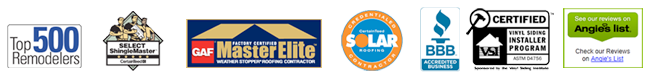 Accredited with BBB, Top 500 Remodelers