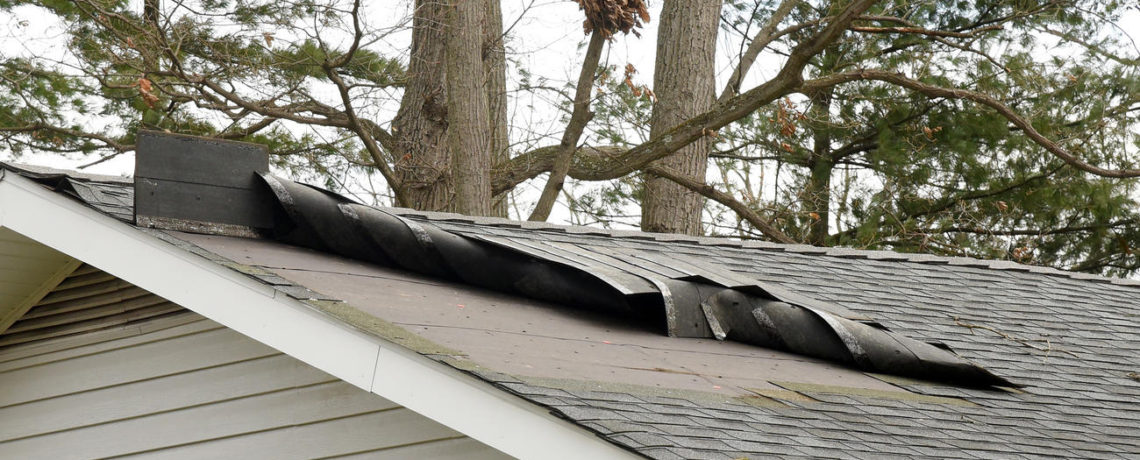 Modern remodeling wind damage