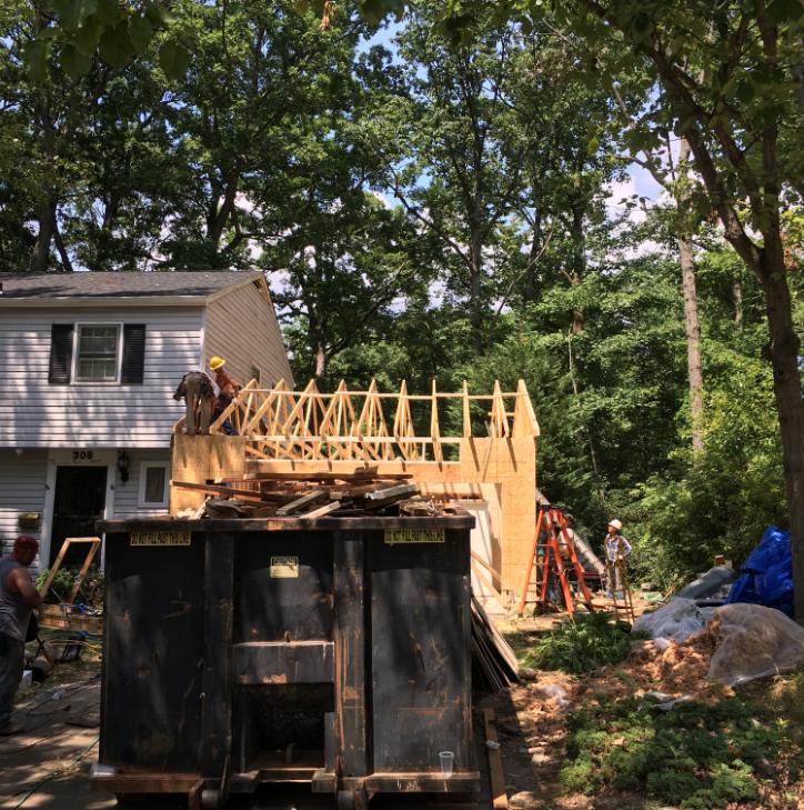 Garage rebuild by Modern Remodeling