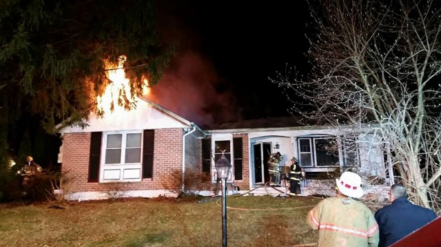 BoardUp Maryland on scene of house fire