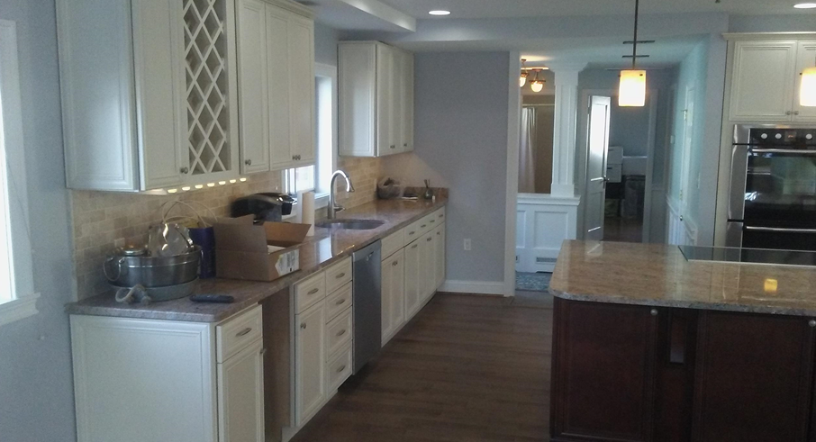 Modern Remodeling Maryland custom kitchen renovation final picture