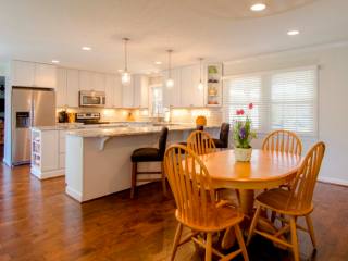 New Kitchen in Maryland Home