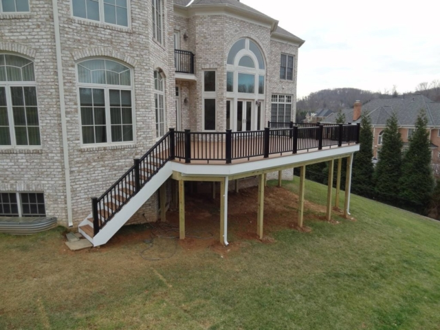 Deck Addition to Maryland Home